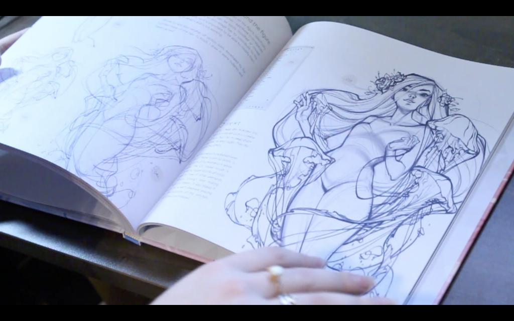 The Sketchbook Of Loish: Art In Progress (+Video Unboxing And Flip Through)Tutorials