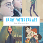 Harry Potter Fan Art Using 12 Magical Styles