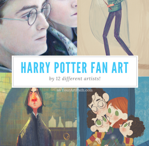 Harry Potter Fan Art in 12 Magical Styles