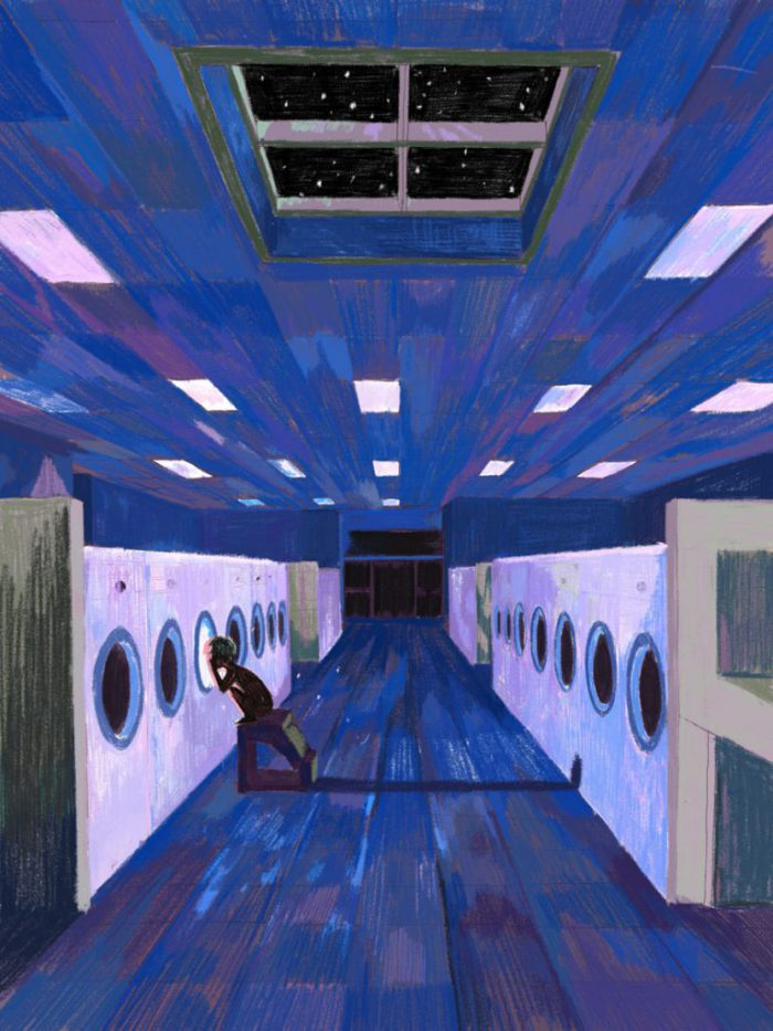 Laundry Room Illustration by Xiao