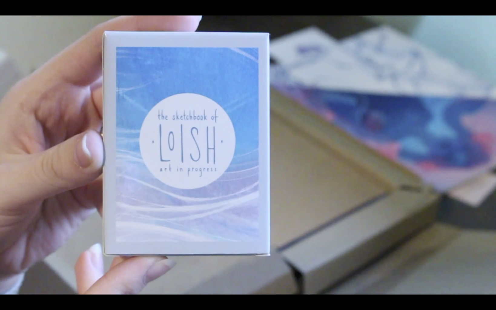 The Sketchbook Of Loish: Art In Progress (+Video Unboxing And Flip Through) Freebies! Deck of Cards