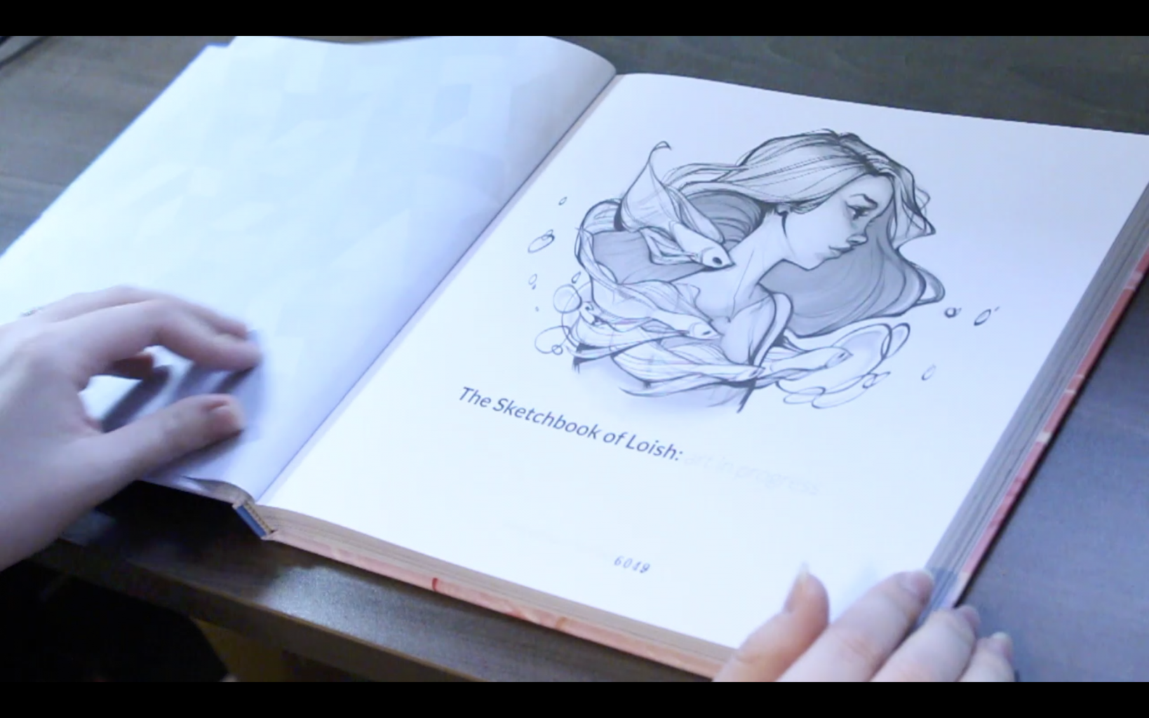 The Sketchbook Of Loish: Art In Progress (+Video Unboxing And Flip Through) table of content