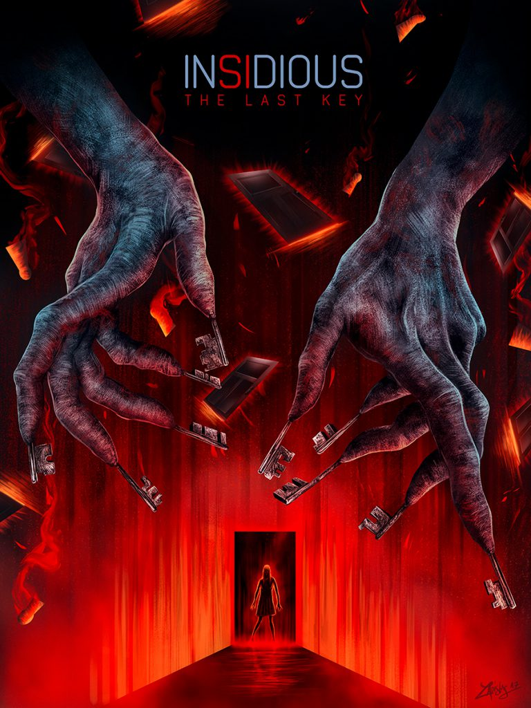 Interview With An Artist - Ladislas Chachignot. And His Digital Movie Poster Artwork - Insidious: The Last Key