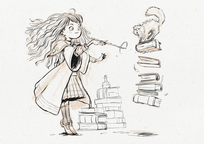 Harry Potter Fan Art in 12 Magical Styles - from Dani Diez