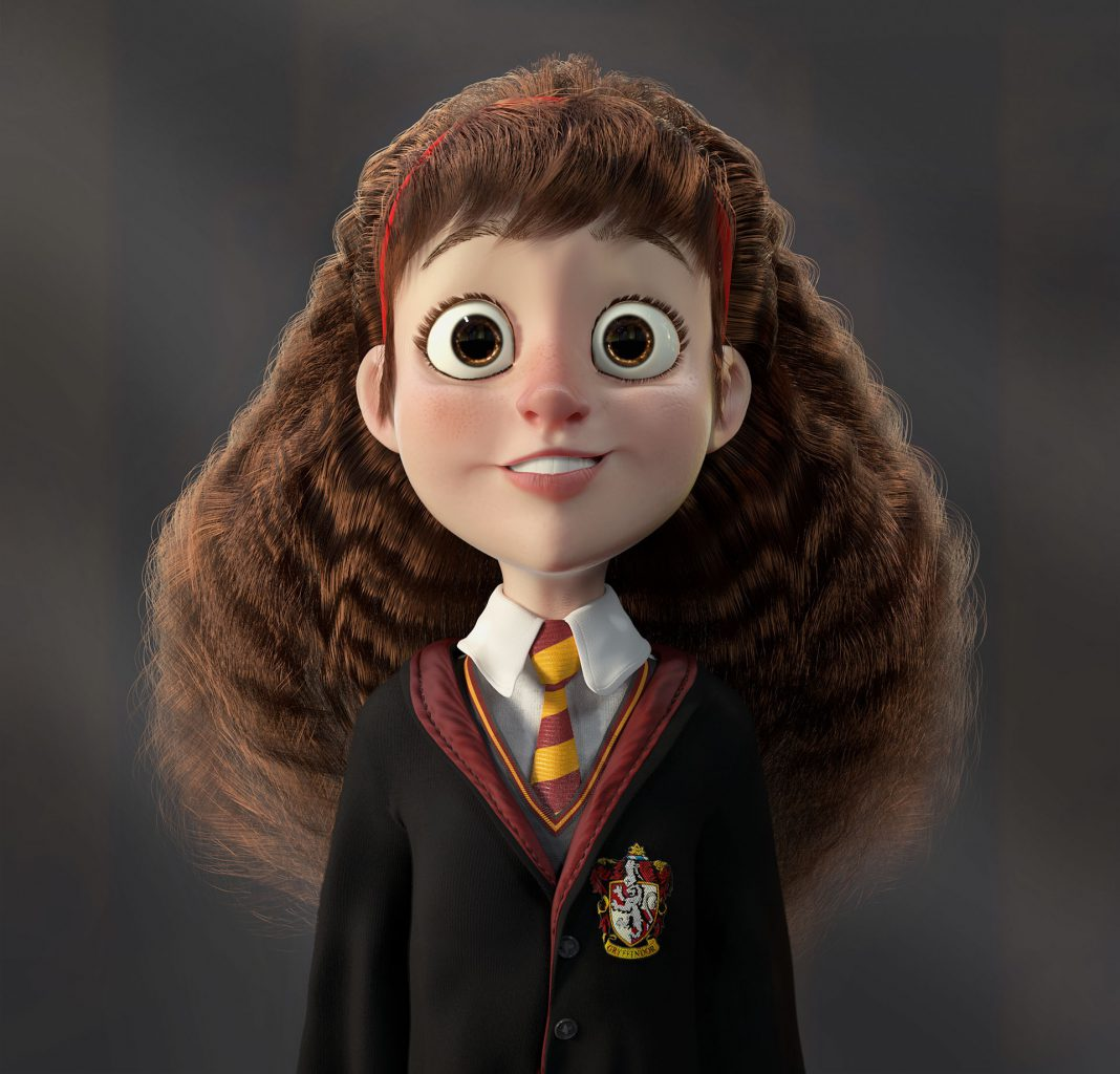 Harry Potter Fan Art in 12 Magical Styles - from Marcelo R Souza