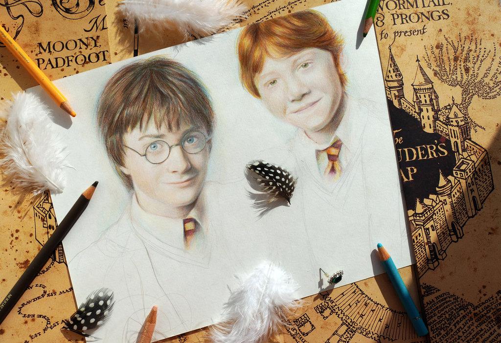 Harry Potter Fan Art in 12 Magical Styles - from Aljona Koshkar