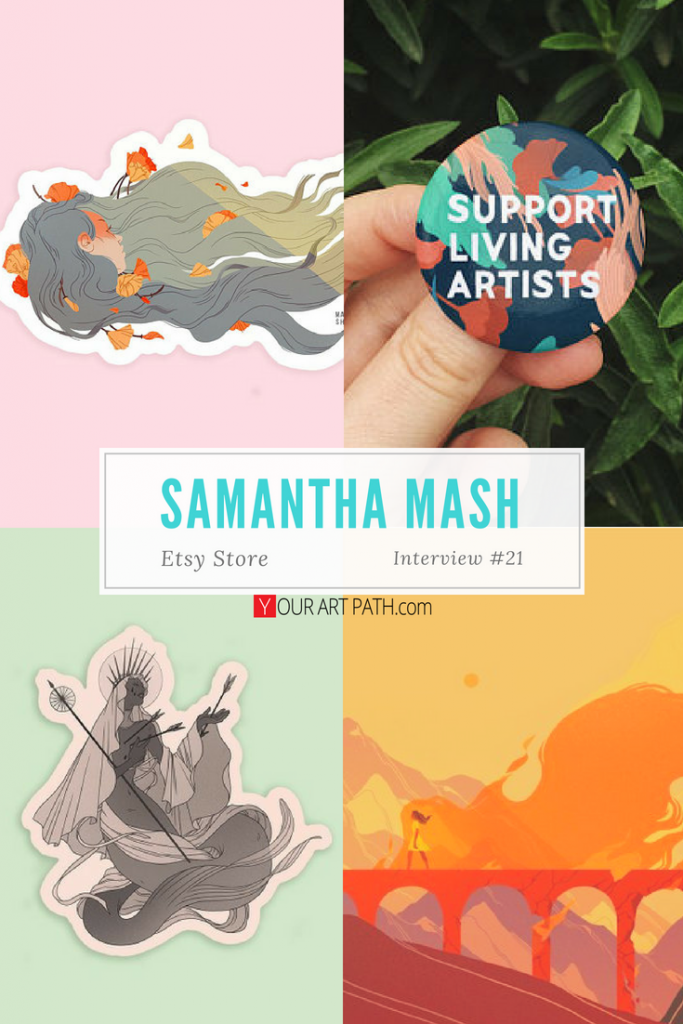 Interviews With Artists | Artist Etsy Store