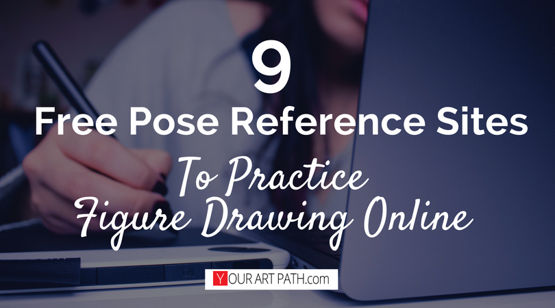 9 Free Pose Reference Sites To Practice Figure Drawing Online