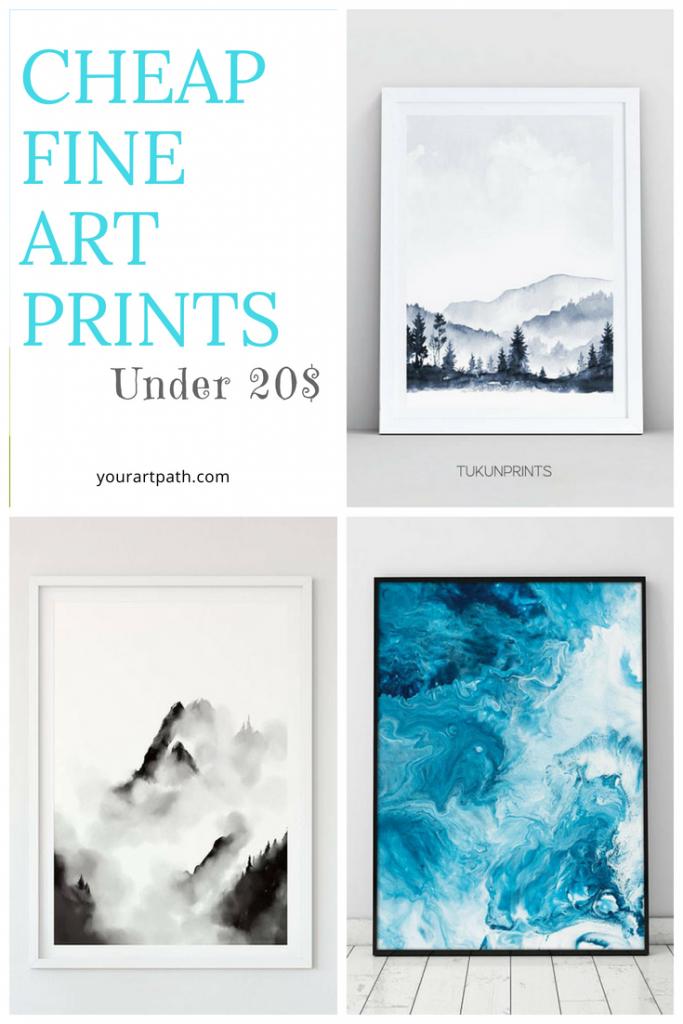 Modern Art Print | Cheap Fine Art Print | Watercolour Print For Walls | Abstract Printable