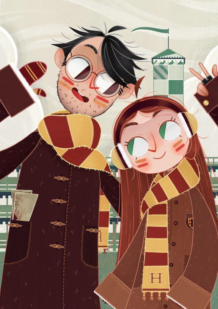 Illustration | Digital Art | Interview With Artist | Harry Potter Fan Art
