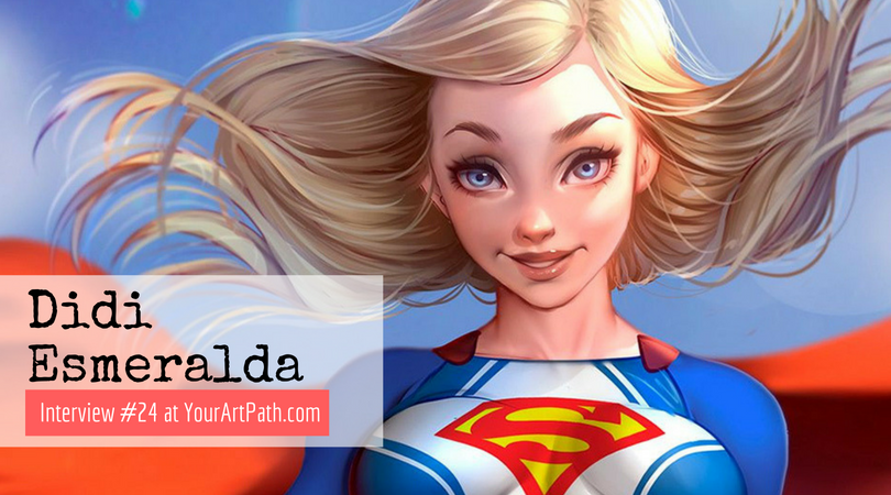 Female Character Design | Interview With Artists | Digital Painting Illustration