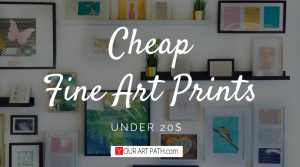 Modern Art Print | Cheap Fine Art Print | Watercolour Print For Walls | Abstract Printable