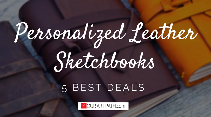5 Best Personalized Leather Sketchbook Deals