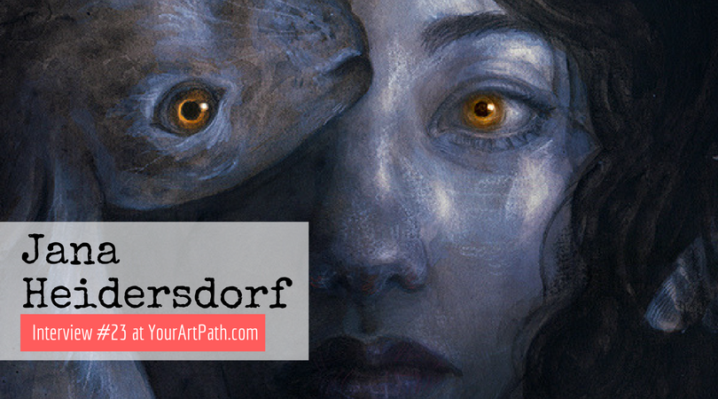 Illustrator's Jana Heidersdorf Fantastical World Of Art (Interview #23)