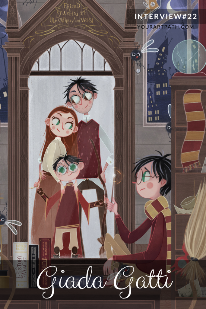 Interview With Artist | Illustration | Harry Potter Fan Art