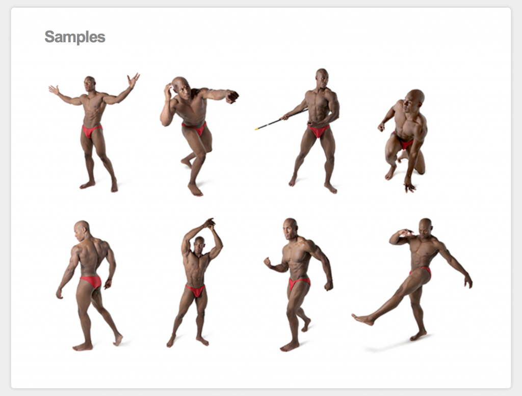 Free Figure Drawing Pose References