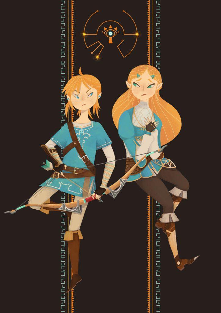 Illustration | Digital Art | Interview With Artist | The Legend Of Zelda Fan Art