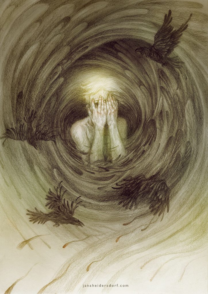 Artist Interview | Creepy Art Drawings | Fantasy Art