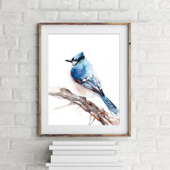 Modern Art Print | Cheap Fine Art Print | Watercolour Print For Walls