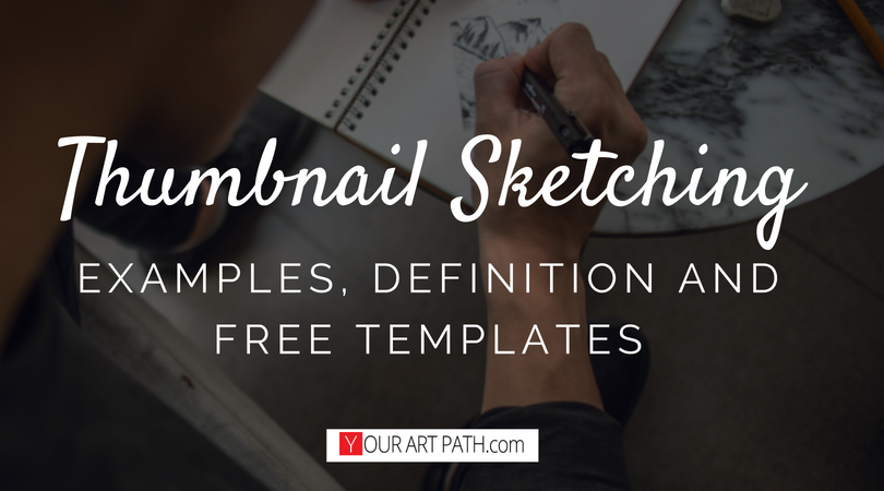 Thumbnail Sketch Examples Definition Templates