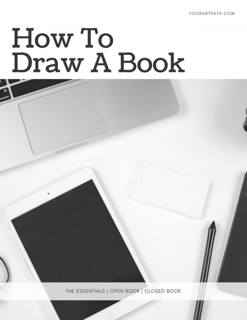 How To Draw A Book   How To Draw An Open Book   How To Draw A Closed Book   Step by step Drawing Tutorial