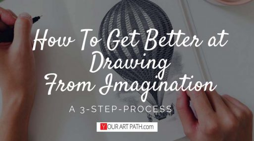 drawing from imagination tips | how to get better at drawing