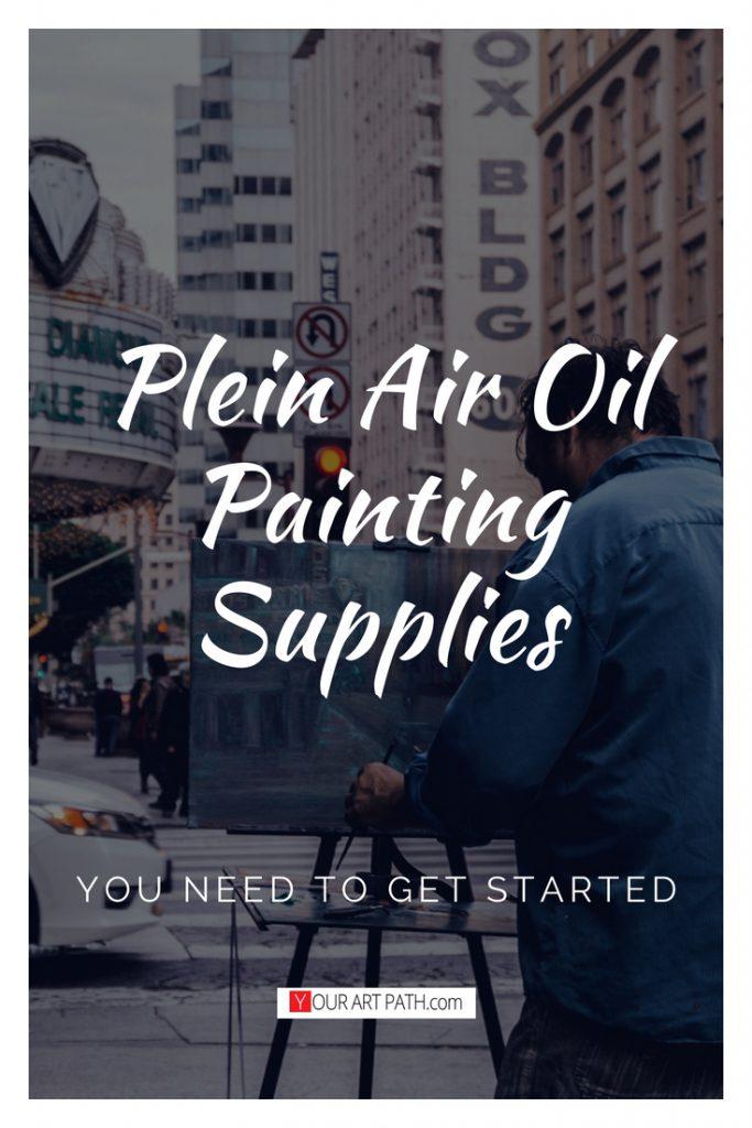 Plein Air Oil Painting Supplies | Plein Air Oil Painting Equipment