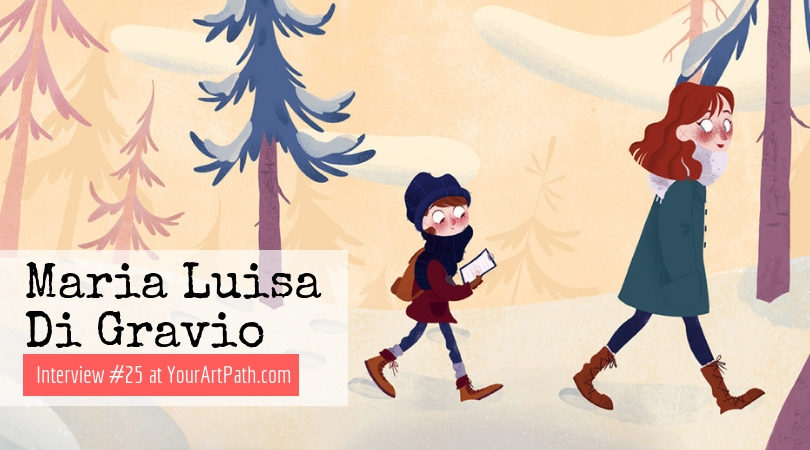 Maria Luisa Di Gravio – Freelance Illustrator from Rome (Interview # 25)