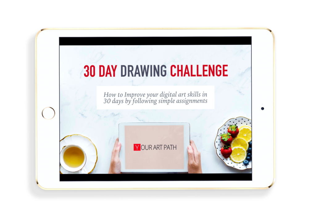30 Days Drawing Challenge Course Yourartpath