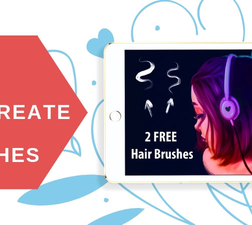 18 Procreate Hair Brushes for Believable Hair Painting