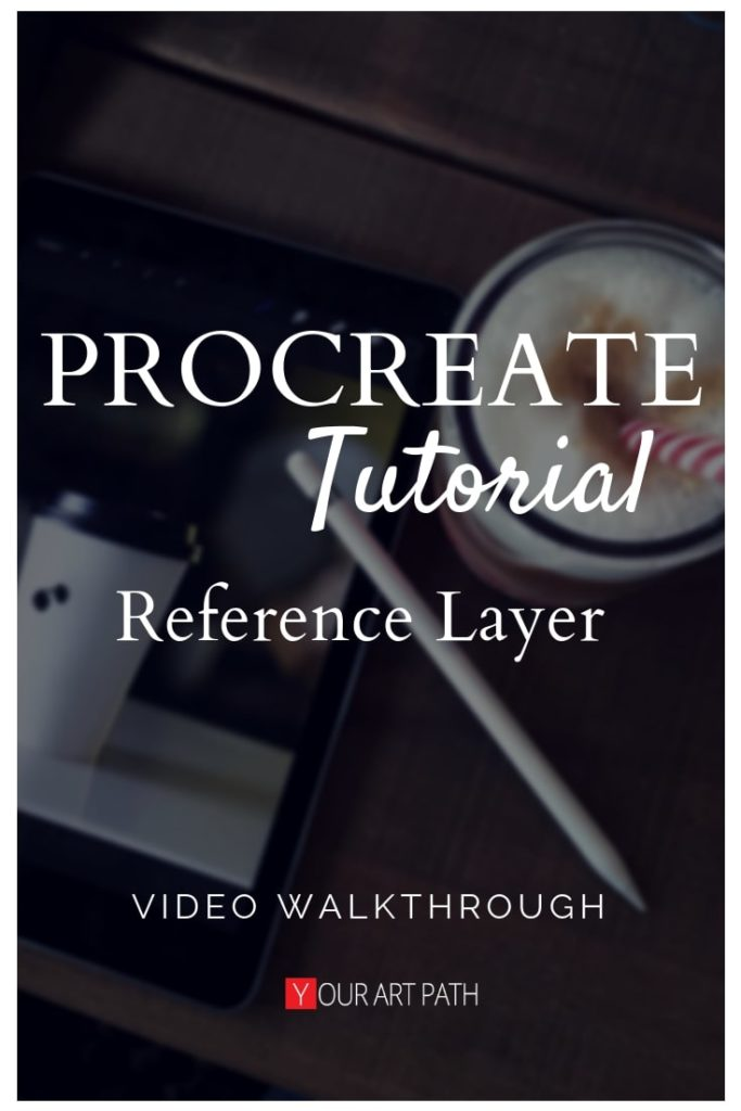 Procreate Reference Layer Tutorial Color Drop Video Yourartpath