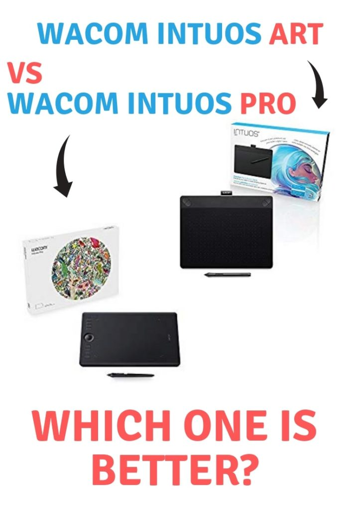 Wacom Intuos Art vs Wacom Intuos Pro: which one is best