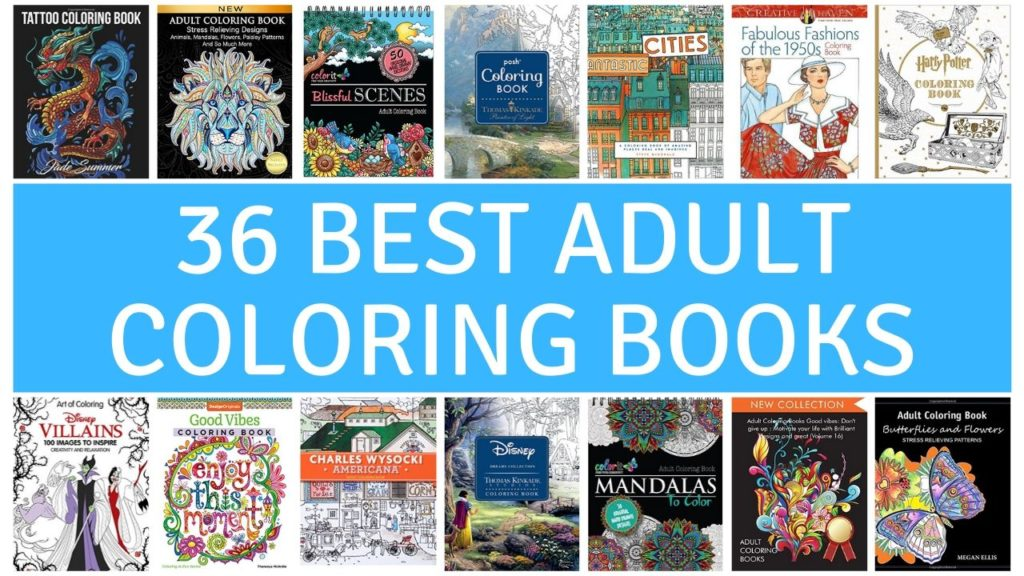 - 36 Best Adult Coloring Books On Amazon In 2020 – YourArtPath